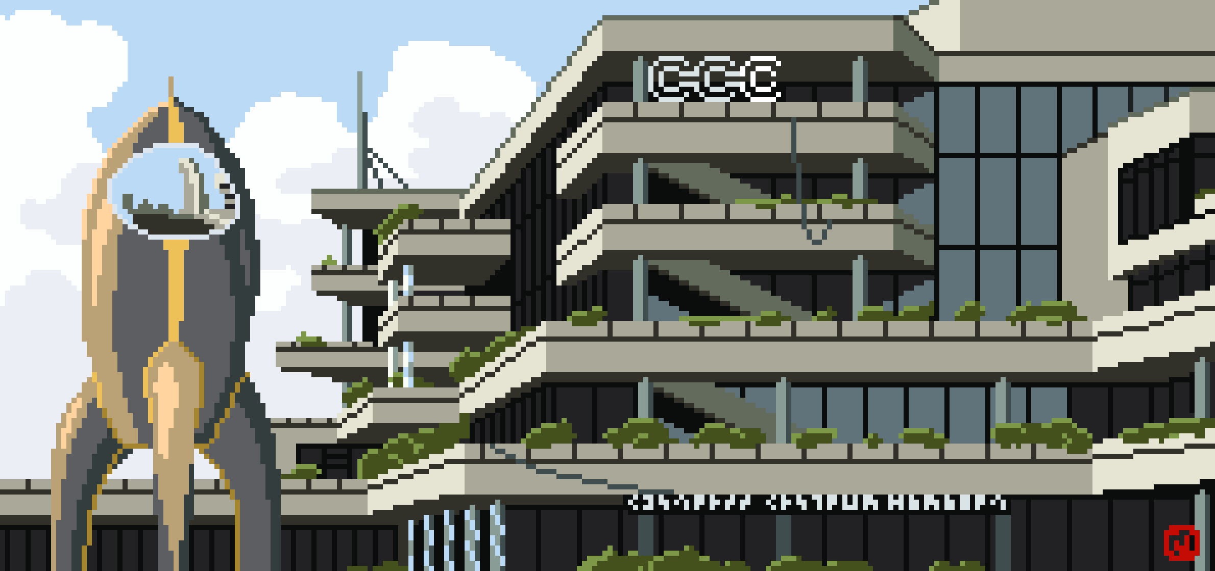 Pixel Art of the CCH
